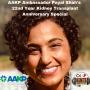 Artwork for Episode 22: AAKP Ambassador Payal Shah's 22nd Kidney Transplant Anniversary Special