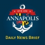 Artwork for February 7, 2019    Daily News Brief   (AACPS BOARD LEADERSHIP, CRIME DOWN IN ANNAPOLIS)