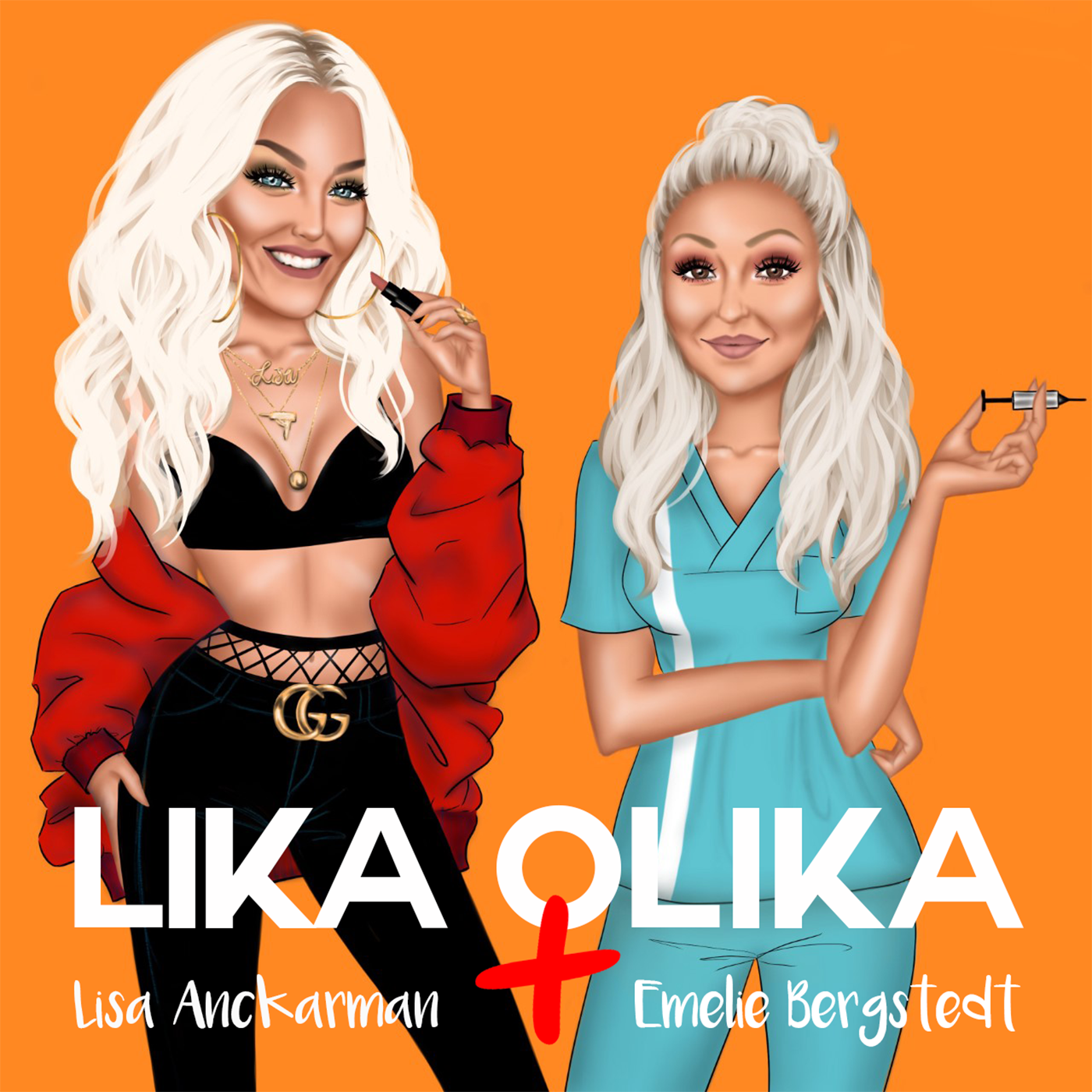 Lika Olika show art