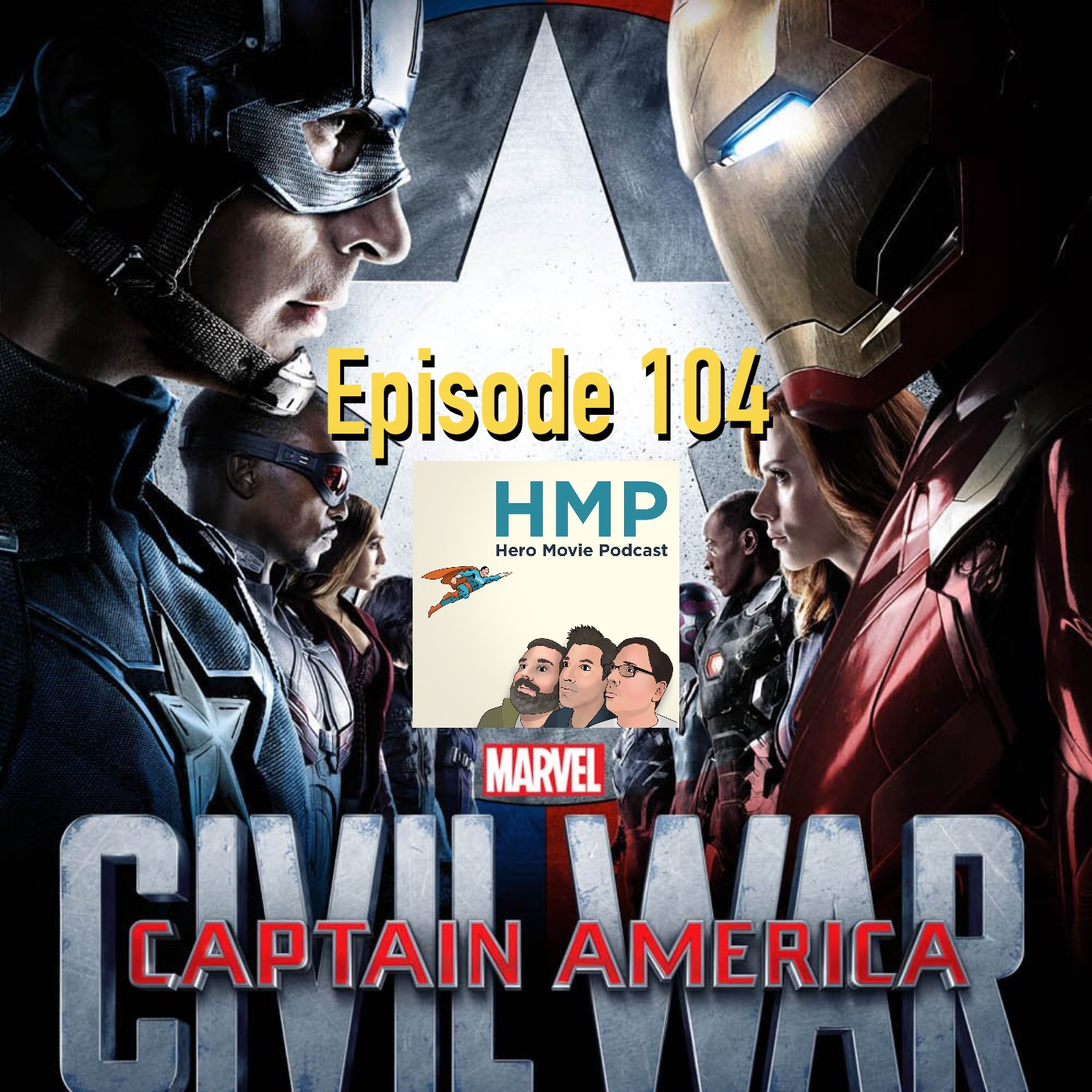 Episode 104- Captian America Civil War