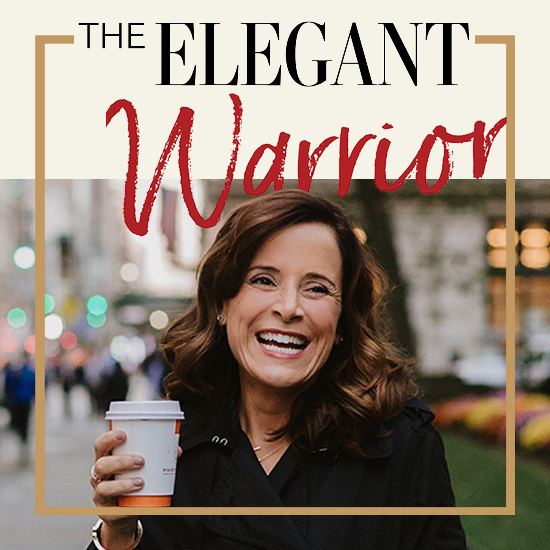 Elegant Warrior Podcast with Heather Hansen show art