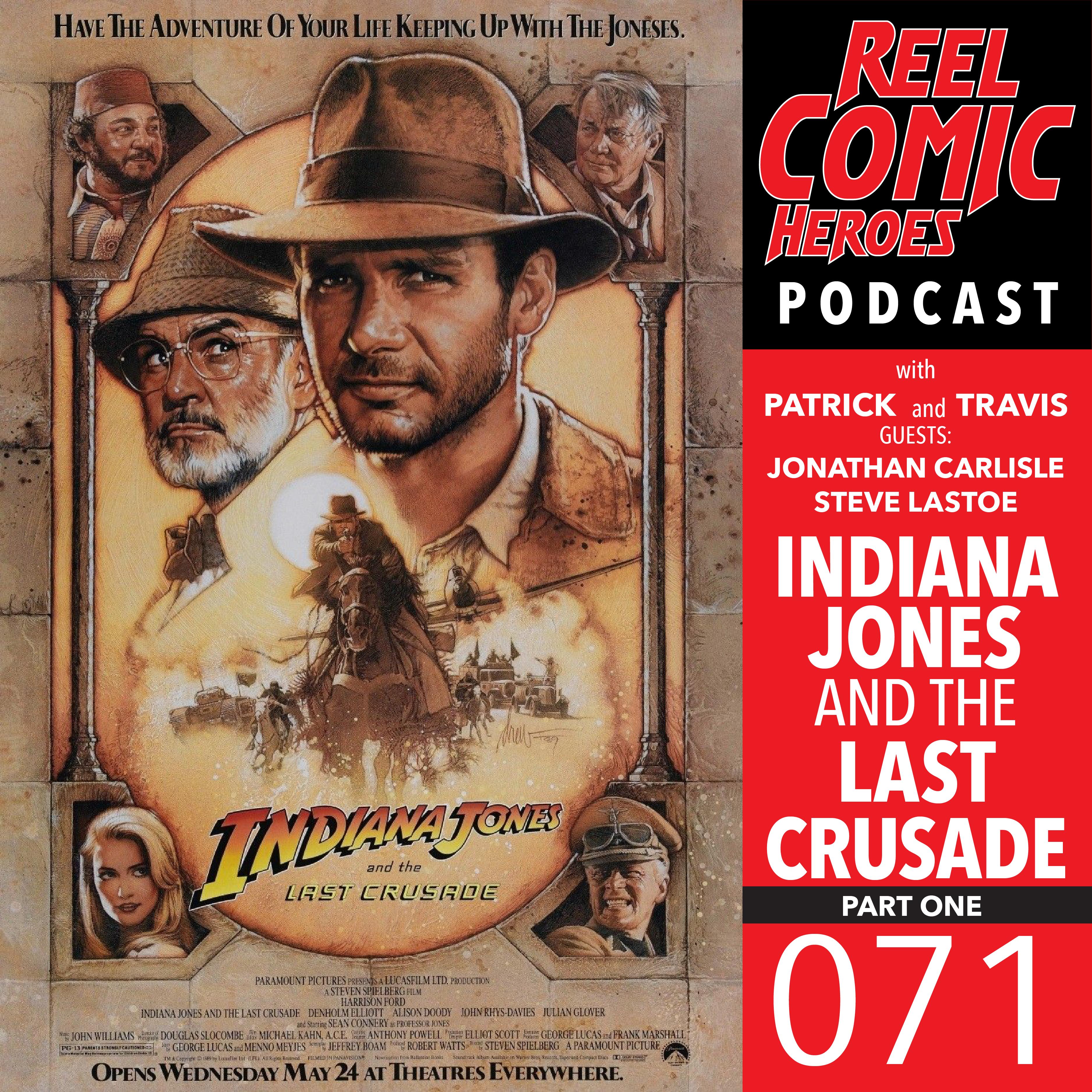 Artwork for Reel Comic Heroes 071 - Indiana Jones and the Last Crusade Pt. 1