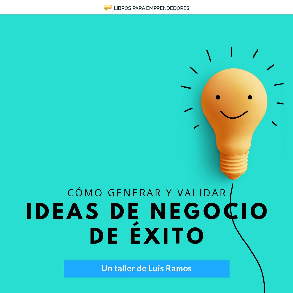 Evento Ideas de Negocio de Éxito
