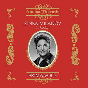 Zinka Milanov in Song