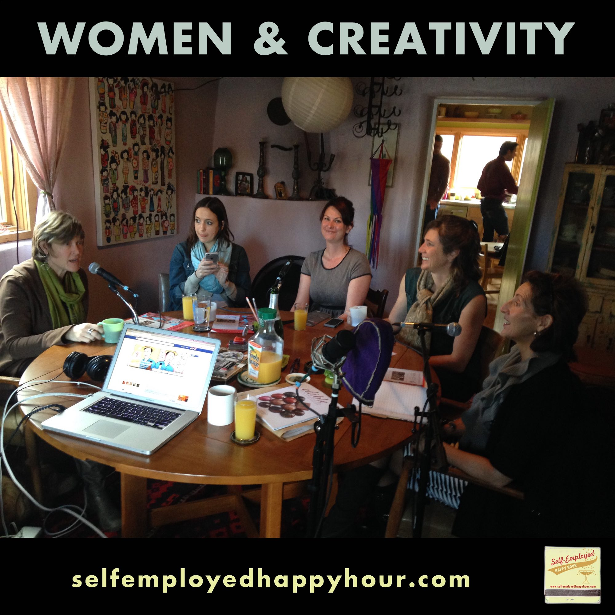Women & Creativity: Shelle Sanchez, Julia Mandeville & Valerie Martinez