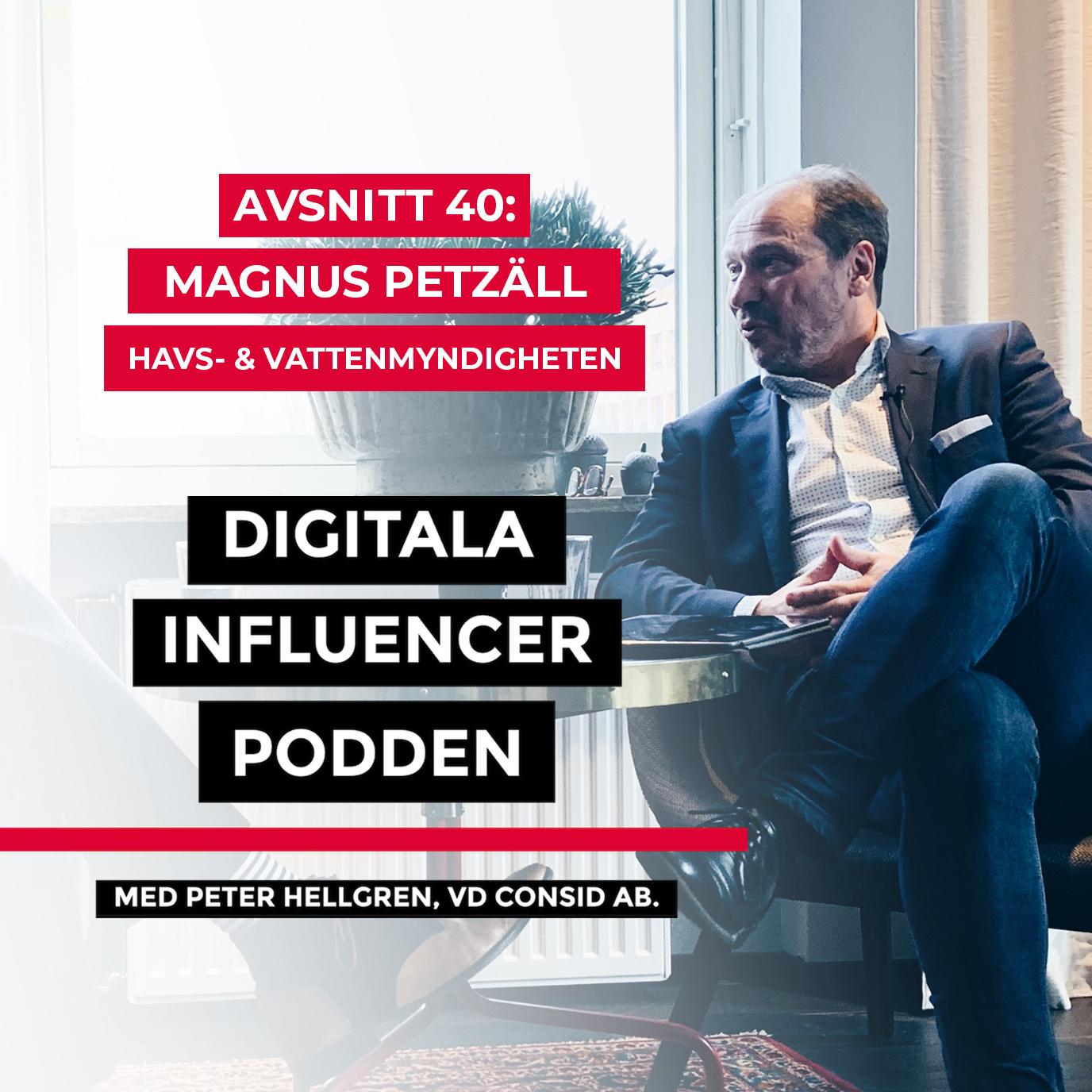 40. Magnus Petzäll, Havs- och vattenmyndigheten – digitalisering inom offentlig sektor: att göra sig av med ett tekniskt arv