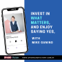 Artwork for 37: Invest in what matters and enjoy saying YES, with Mike Ganino.