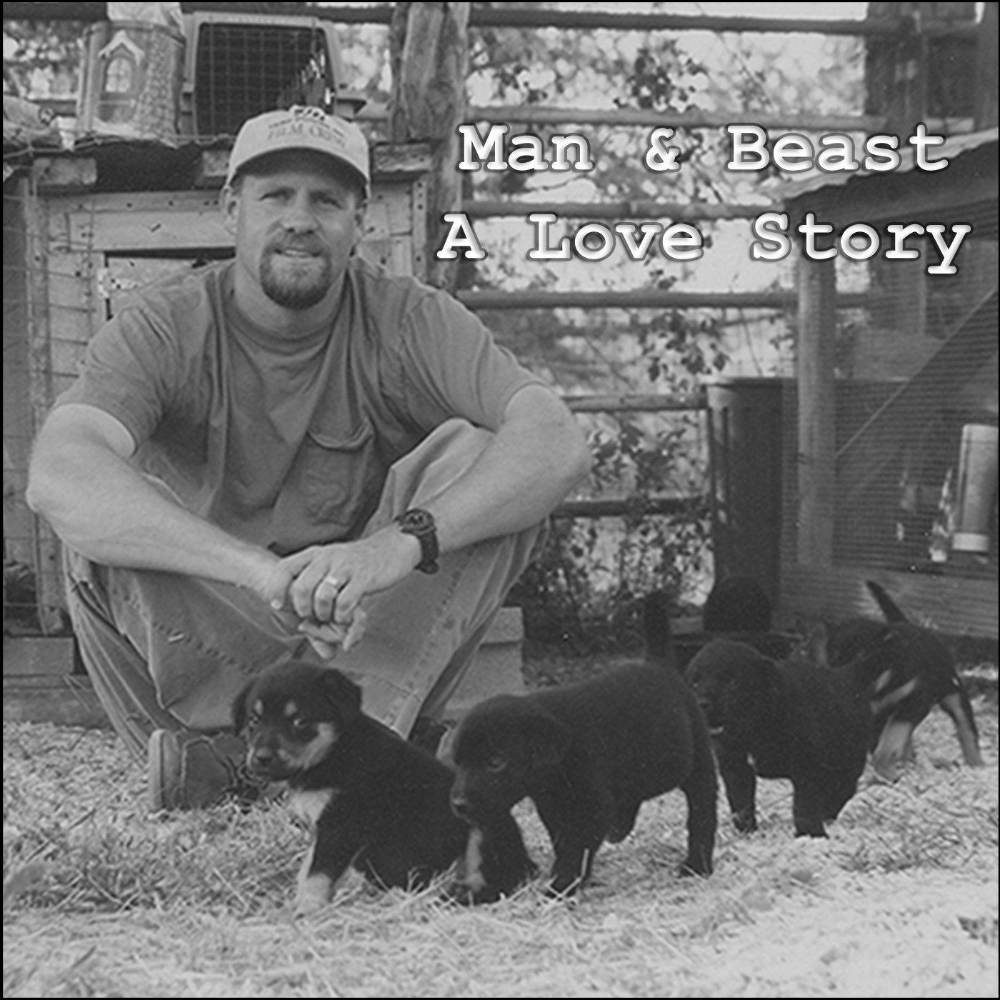 Man and Beast A Love Story show art
