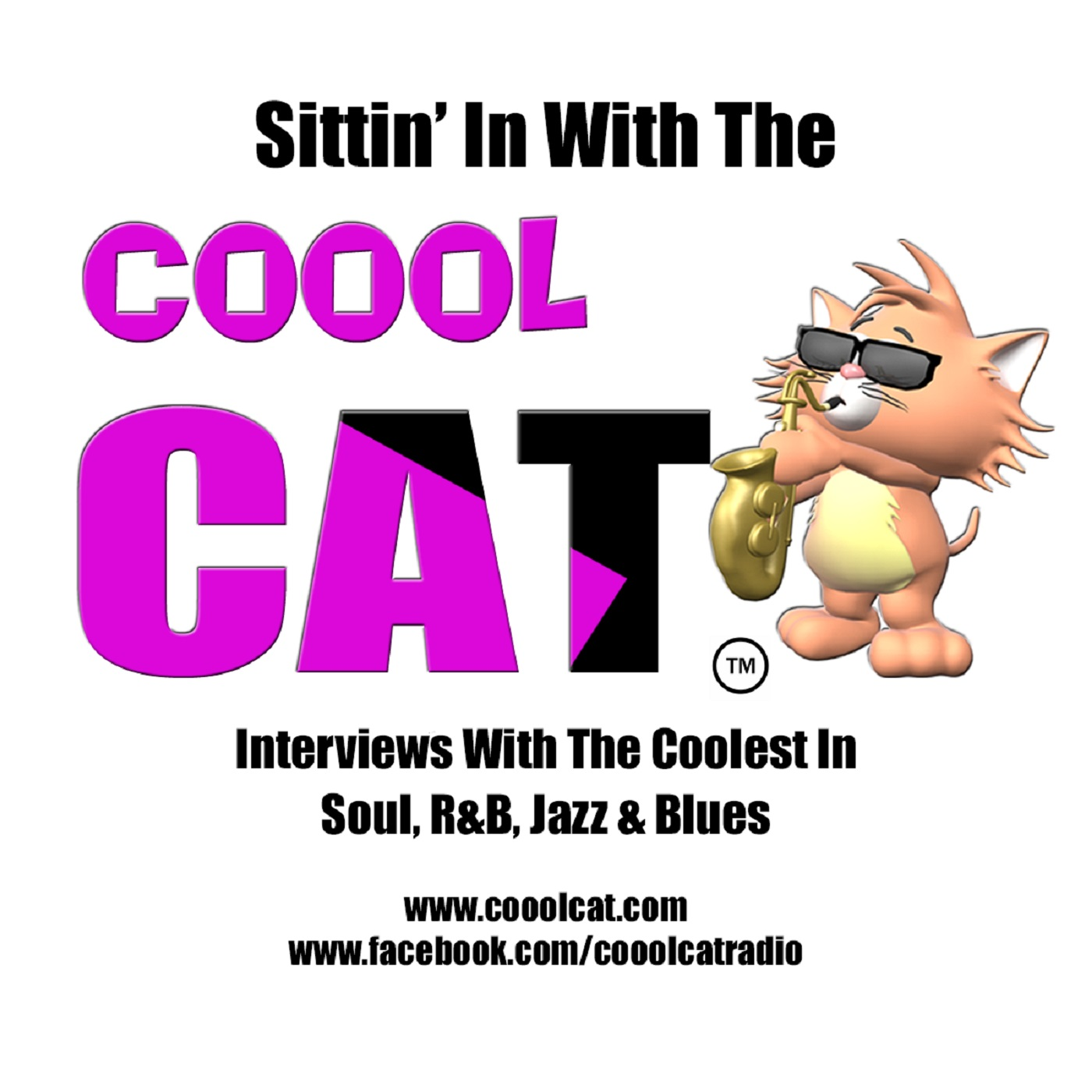 Sittin' In With The Coool CAT show art