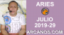 Artwork for HOROSCOPO ARIES - Semana 2019-29 Del 14 al 20 de julio de 2019 - ARCANOS.COM