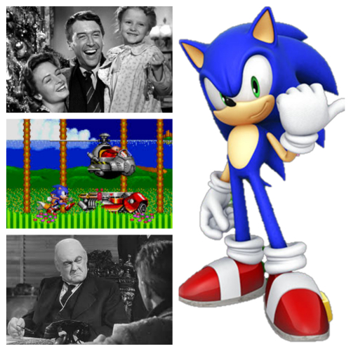 It's a Wonderful Life/Sonic the Hedgehog