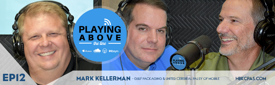 Playing Above The Line podcast | ep12 | Mark Kellerman