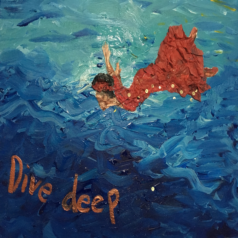 The Deep End Friends Podcast show art