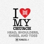 Artwork for I Love My Church - Head, Shoulders, Knees & Toes