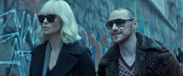 Atomic Blonde - Charlize Theron James McAvoy