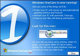 Windows Live OneCare 1.5.1890.16