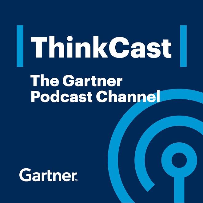 Artwork for Gartner ThinkCast 169_Be a Digital Disruptor, Not Disrupted