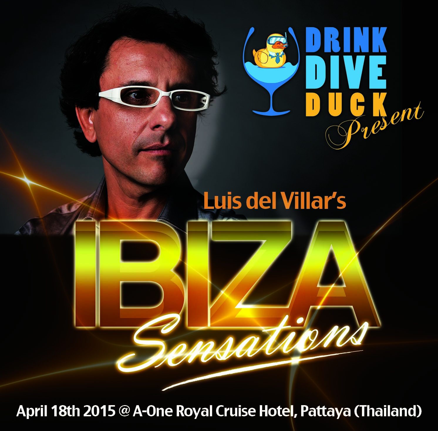 Artwork for Ibiza Sensations 111 Drink Dive Duck @ A-One Royal Cruise Hotel Pattaya - Thailand