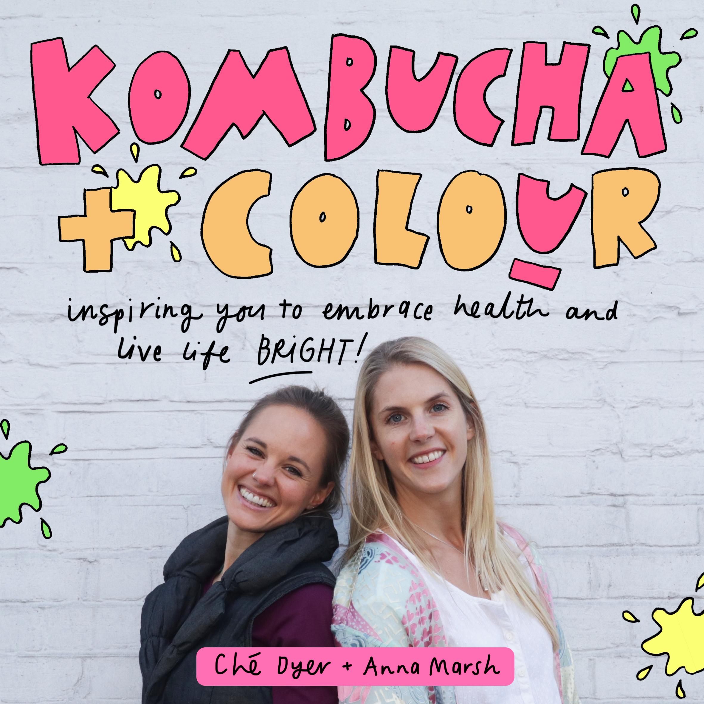Kombucha and Colour show art