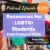 214: Resources for LGBTQ+ Students from Campus Pride show art