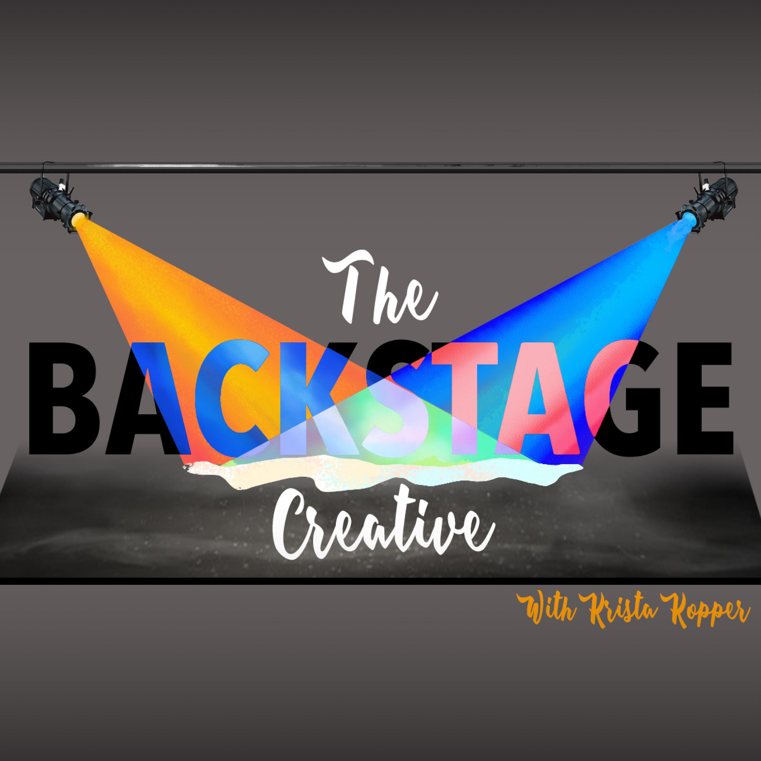 The Backstage Creative show art