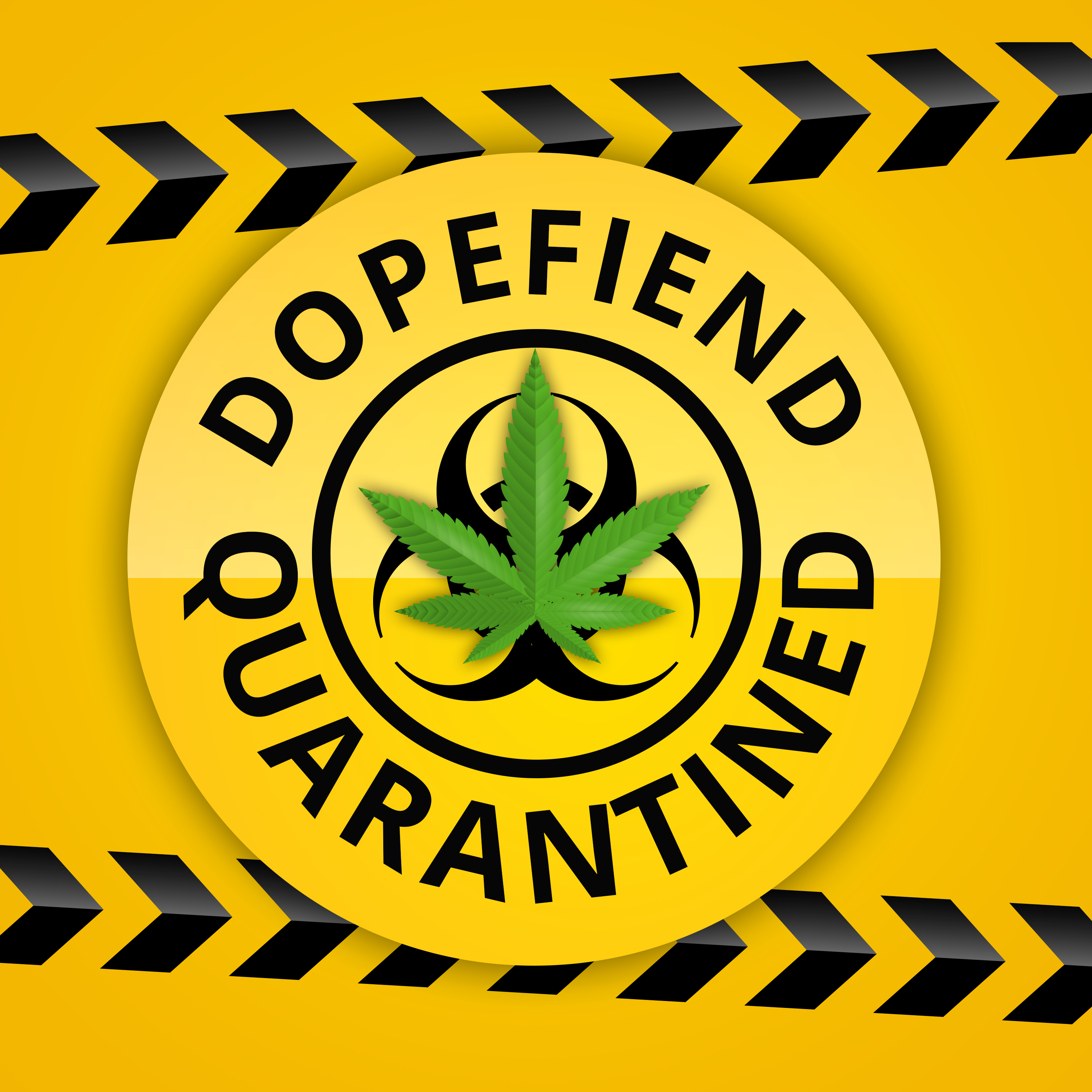 Artwork for Medical Cannabis in Melbourne with BB!: Dopefiend Quarantined 008
