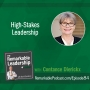 Artwork for High-Stakes Leadership with Constance Dierickx