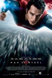 Artwork for The Marvel vs DC movie mash-up- 'Man of Steel'