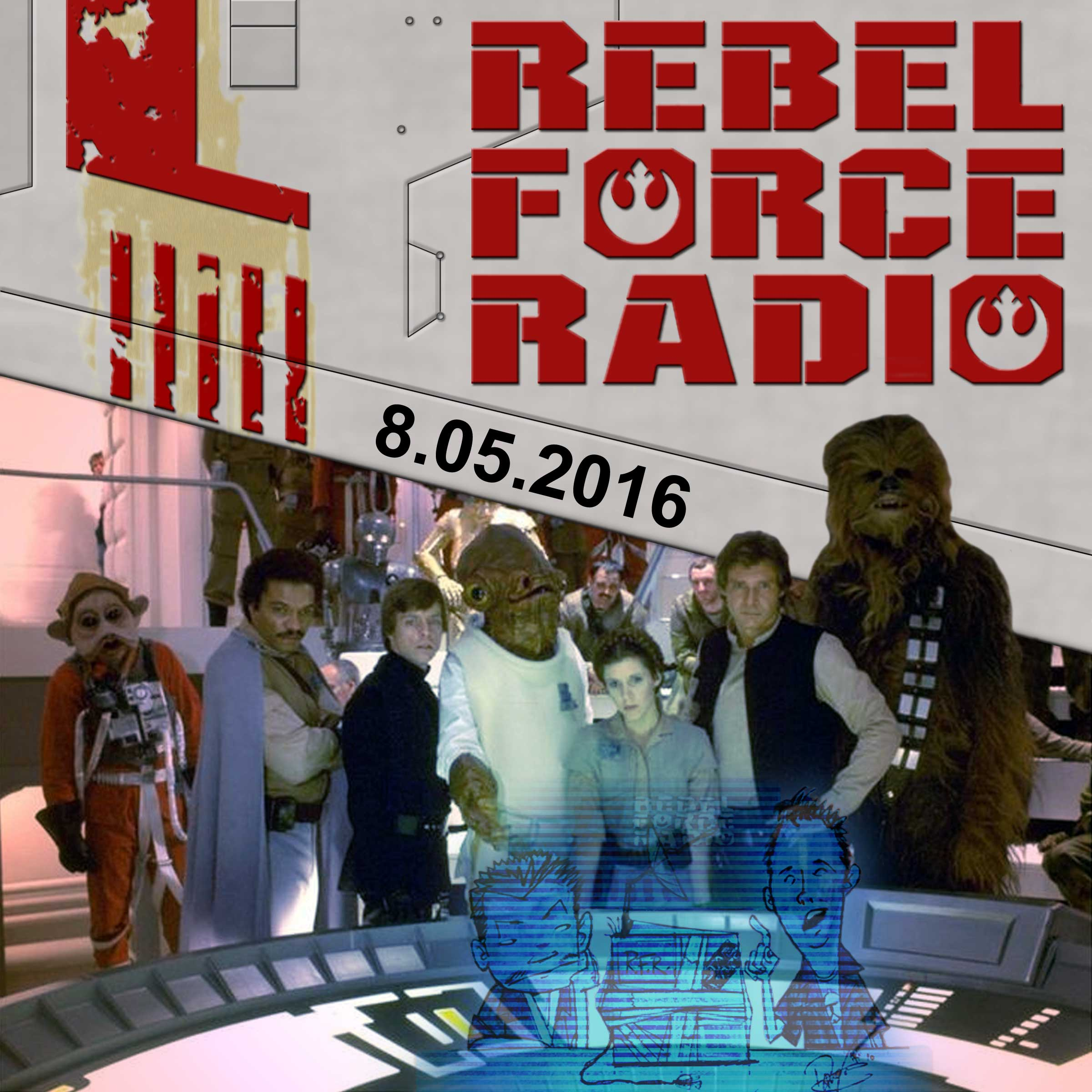 37d58b5699200 Rebel Force Radio  Star Wars Podcast
