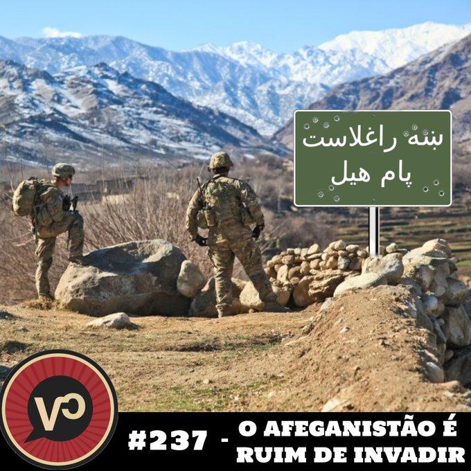 """#237 """"O Afeganistão é ruim de invadir"""" - com Tanguy Baghdadi"""