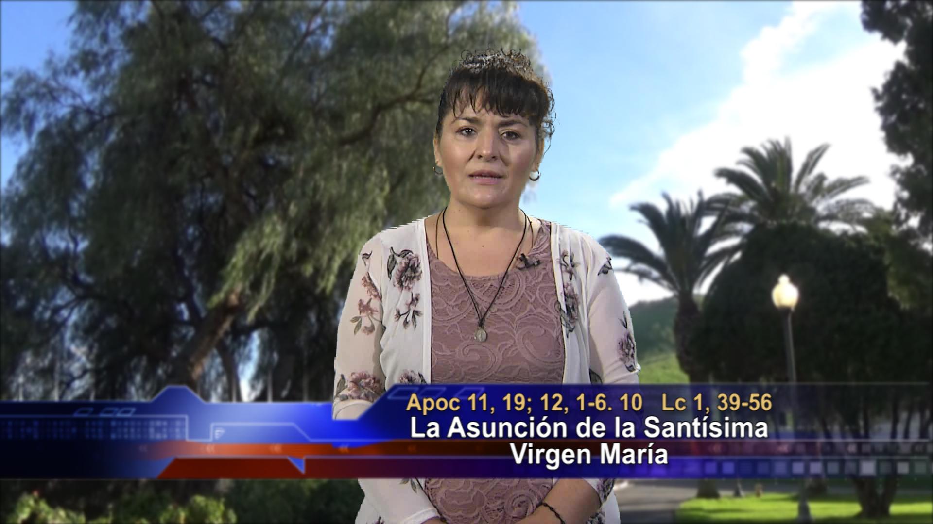 Artwork for Dios te Habla con Leticia Diaz; Tema el hoy: La Asunción de la Santisima Virgen María