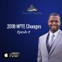 Artwork for 2018 NPTE Changes