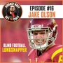 Artwork for Off the Cuff with Aubrey Huff #16: Jake Olson - Blind Football Longsnapper