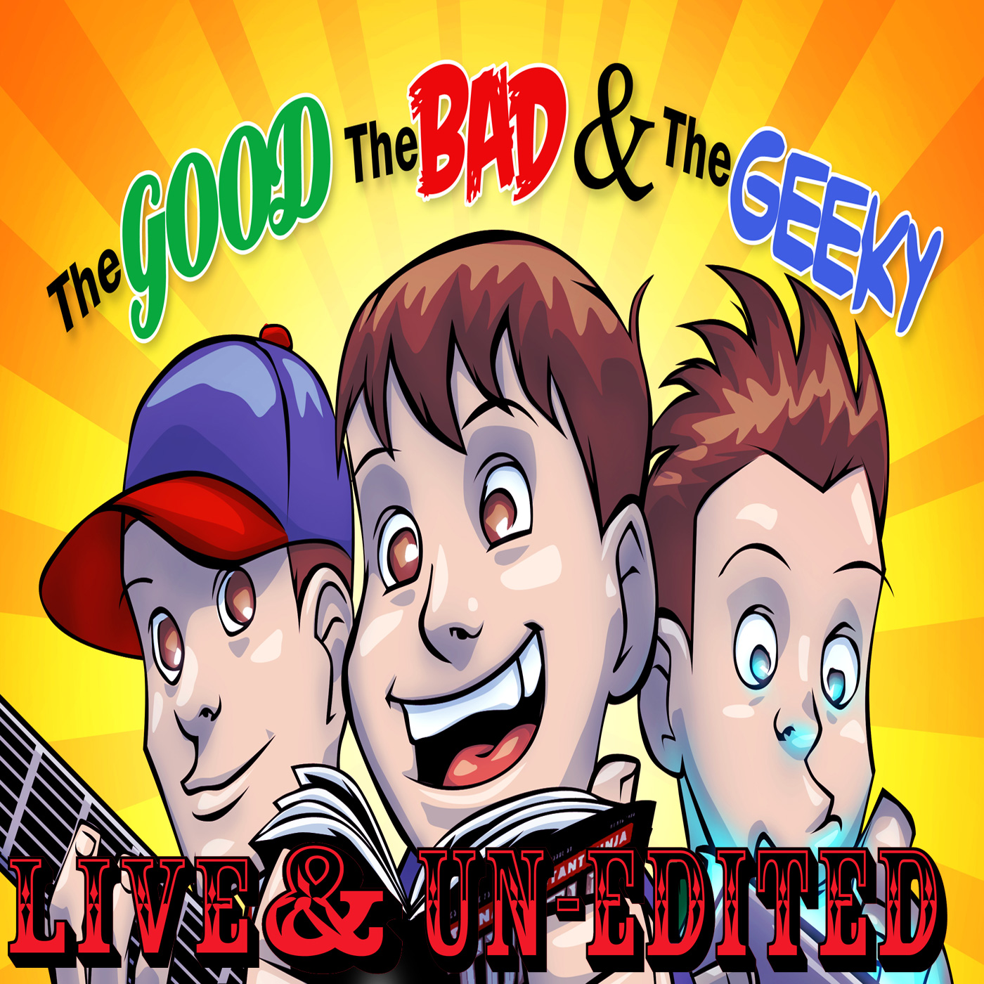 GBG Live & Un-Edited from Packrat Comics June 9, 2012