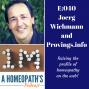 Artwork for E040- Provings.Info with Joerg Wichmann