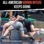 Artwork for Hokies All-American Korbin Myers pursuing a doctorate in wrestling - VT103