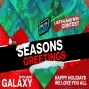 Artwork for Seasons Greetings from Comic Con Radio and your Favorite Host Galaxy! Special Holiday Contest
