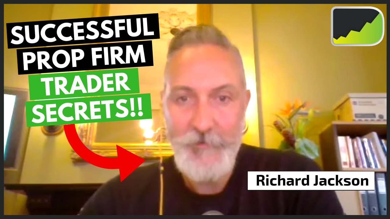 Technical Trader Who Started A Massive Prop Firm - Richard Jackson Trader Interview