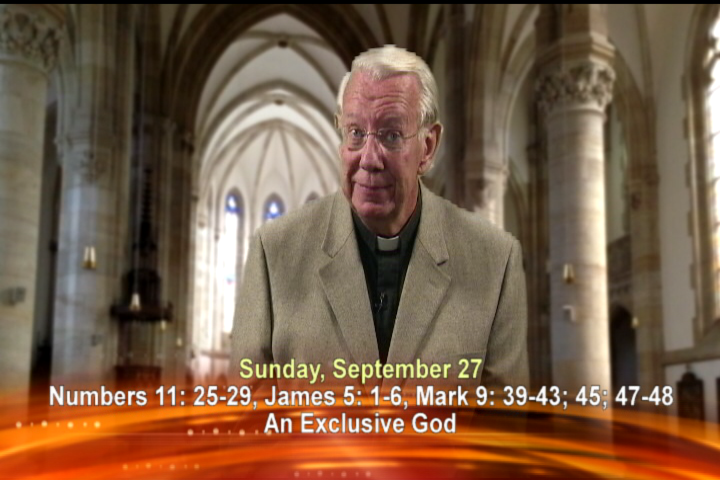 Artwork for Sunday. 27th September Today's Topic: An exclusive God