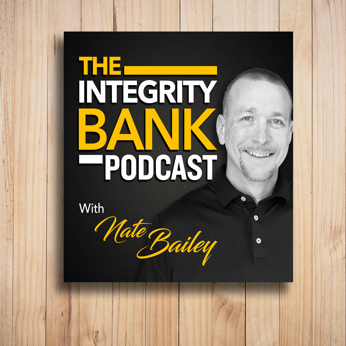 The Integrity Bank Podcast show art