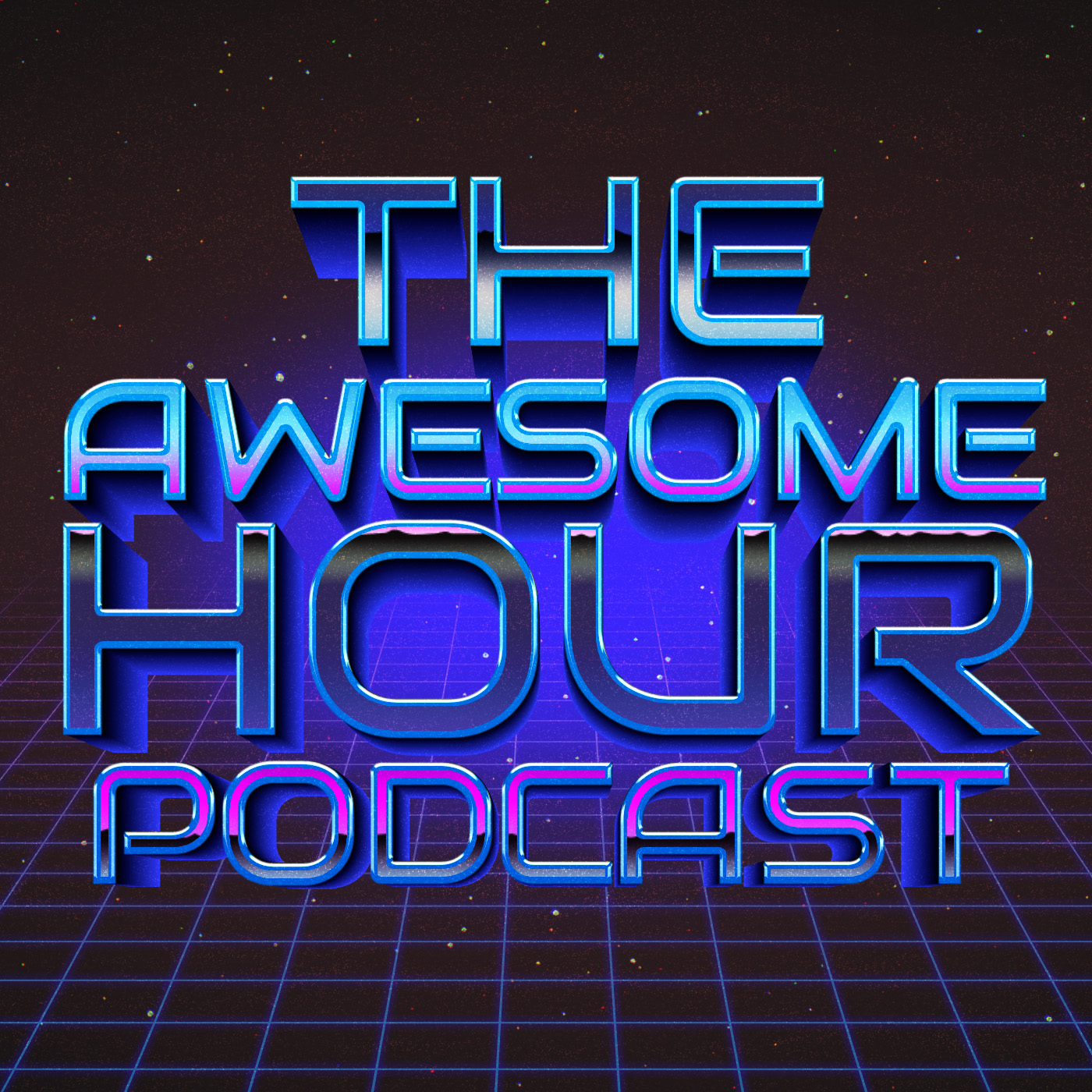 The Awesome Hour show art