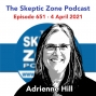 Artwork for The Skeptic Zone #651 - 4.April.2021