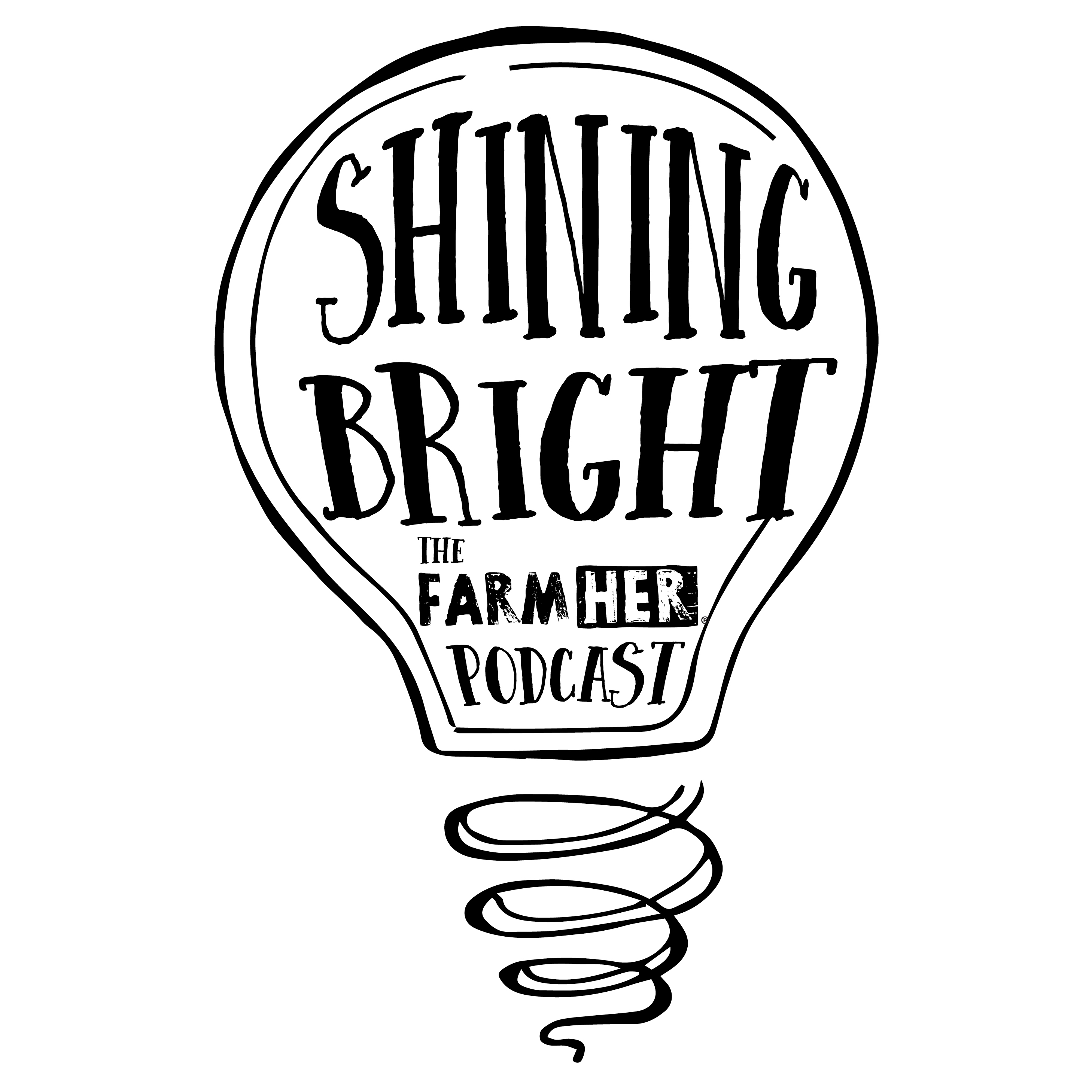 shining bright the farmher podcast libsyn directory  info outline rebeckah adcock usda s01 e55 12 12 2018