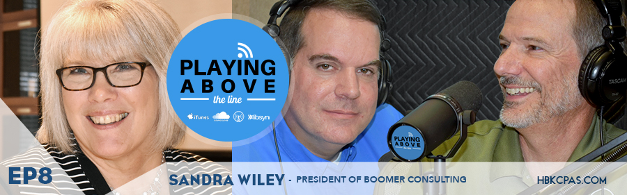 Playing Above The Line | Ep8 | Sandra Wiley | Boomer Consulting