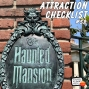 Artwork for The Haunted Mansion - Disneyland - Attraction Checklist #58