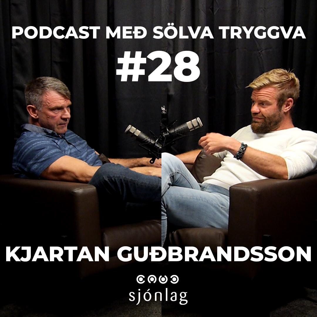 #28 Kjartan Guðbrandsson með Sölva Tryggva