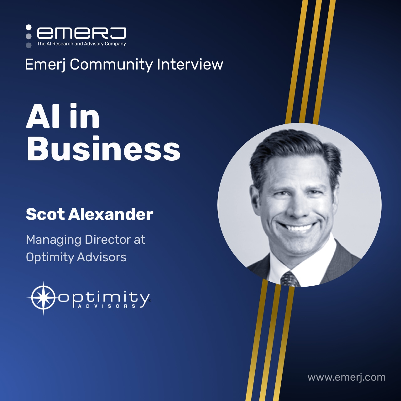 2021 AI Trends and Transformation - with Scot Alexander of Optimity Advisors