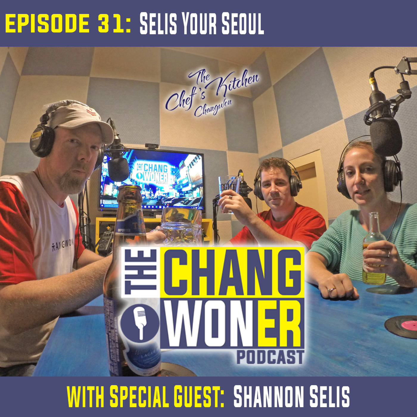 Artwork for Voice Acting and Alternative Jobs from Teaching in South Korea. -guest Shannon Selis (Ep 31)