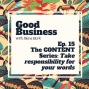 Artwork for The Content Series Part 3: Take responsibility for your words | GB15