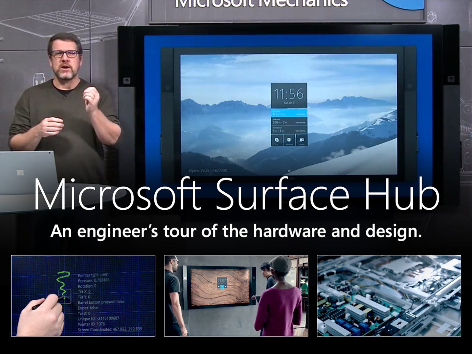 Artwork for An engineer's tour of the hardware and design of Microsoft Surface Hub